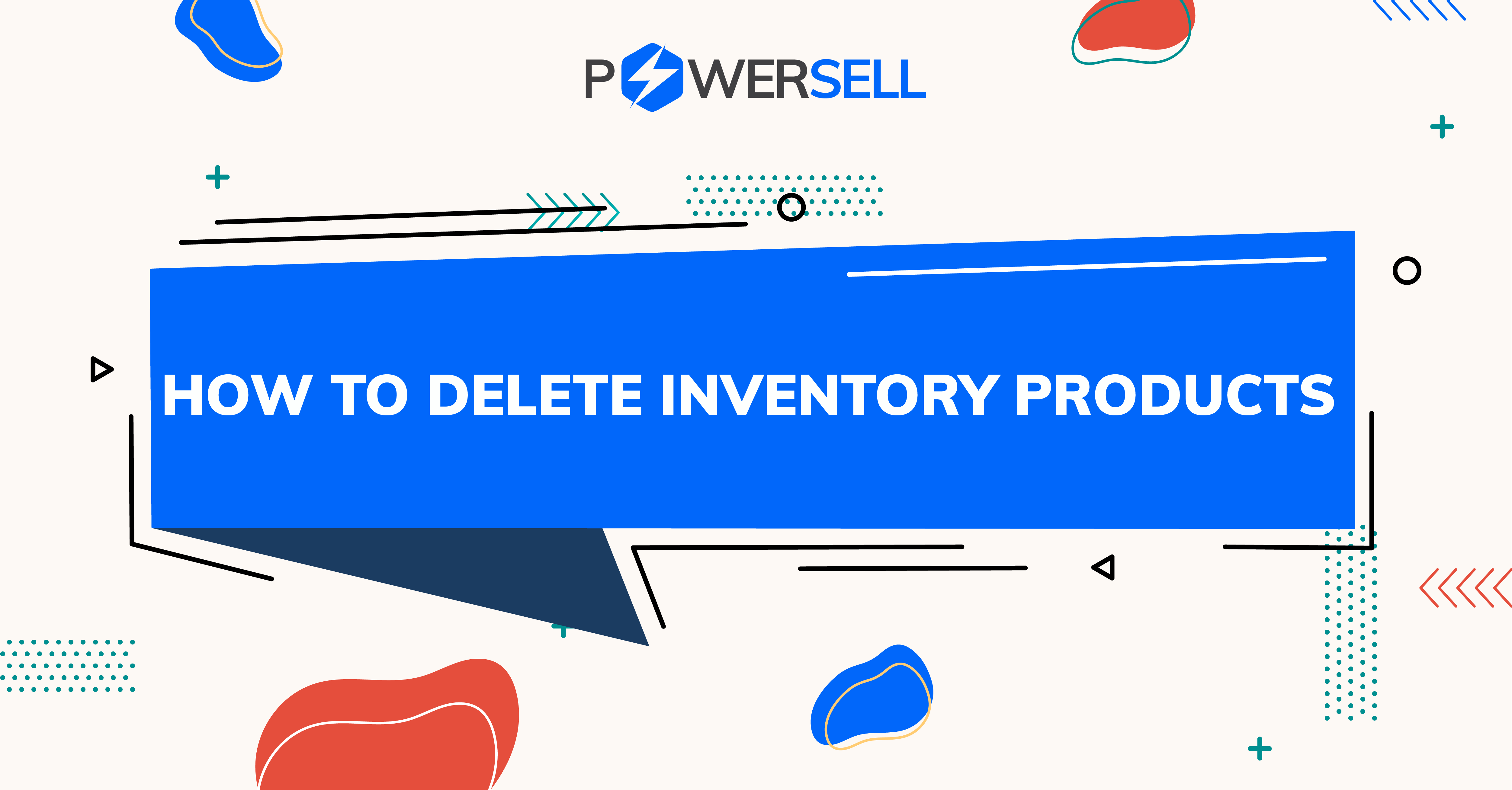 Deleting Inventory products