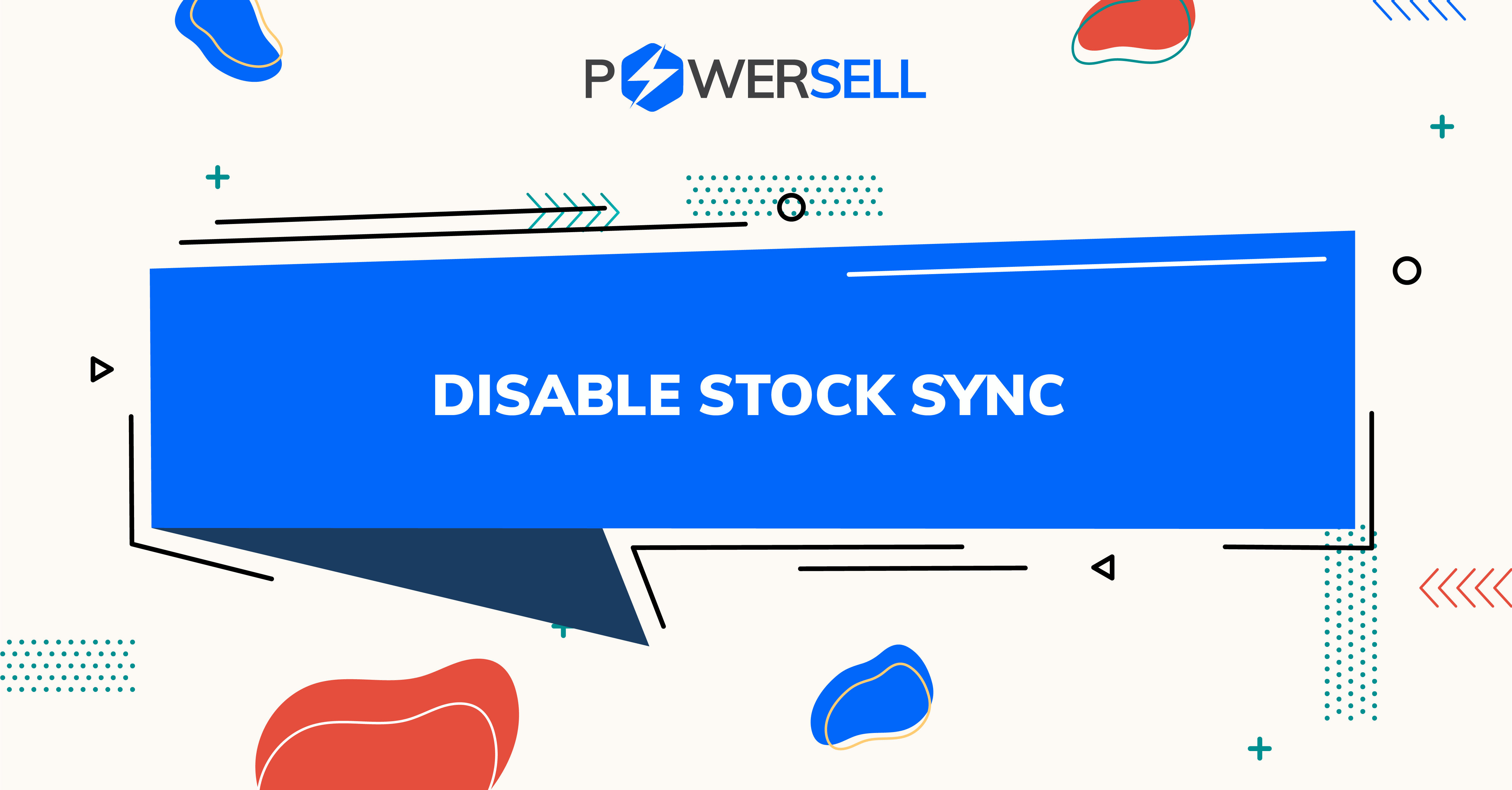 DISABLE STOCK SYNC: Solution for VIRTUAL stock management!