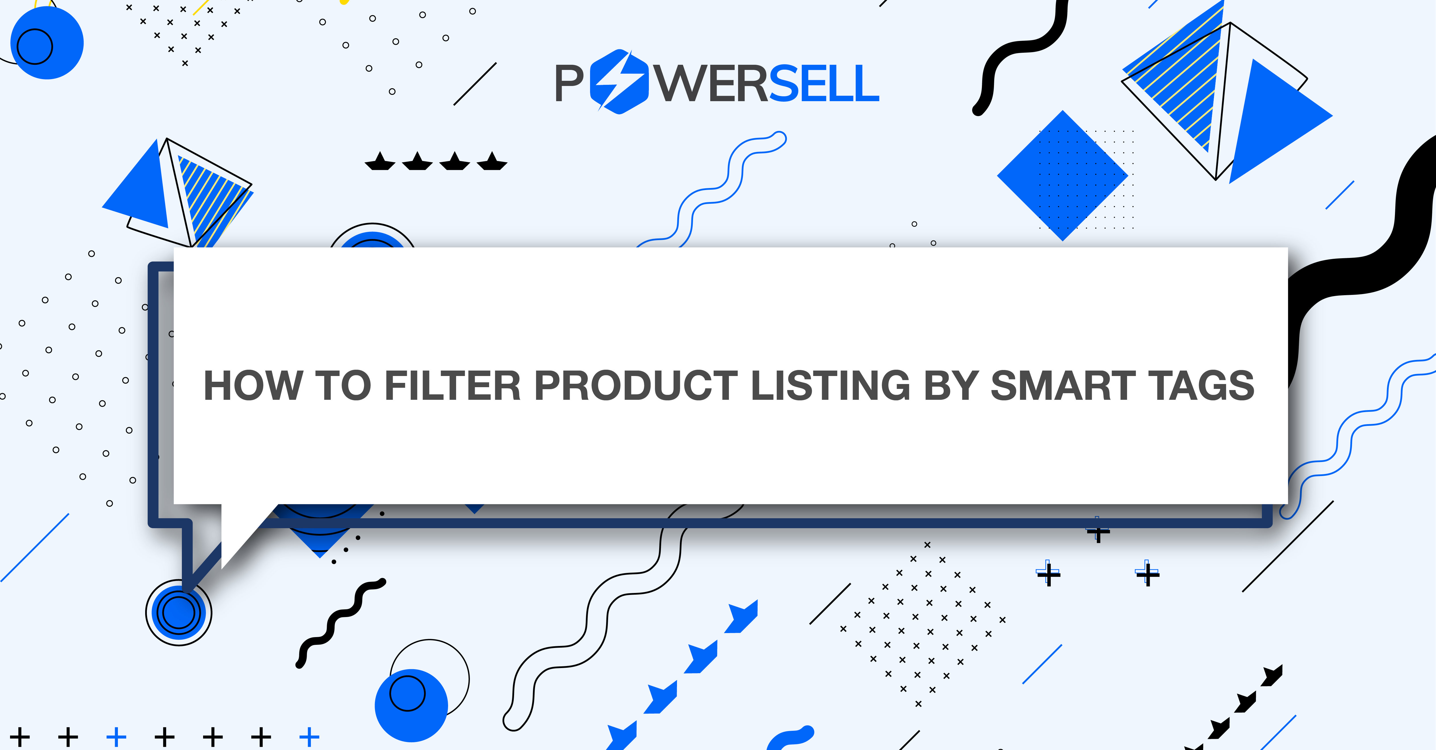 How to filter product listing by smart tags